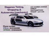 Elegance tinting,wrapping and autoservices(mechanics)!