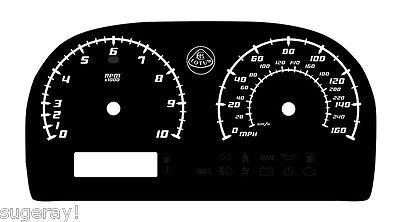 Lotus Elise & Exige Custom Gauge Face dials in Lamborghini style