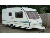 Stunning 2003 abbey 215 GTS 2 berth caravan with rear dressing/bathroom all accessories