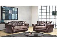 Shannon quality furniture sofa sofacorner armchair swivel chair in BLACK/GREY or BROWN/MINK