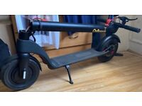 Decent X7 Electric Scooter Folding Adjustable Speed Black Scooter