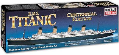 Minicraft RMS Titanic Centennial Edition 1/350 Plastic Model Ship 11318 comprar usado  Enviando para Brazil