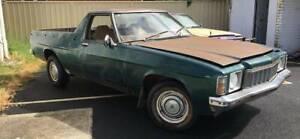 1978 HZ V8 3spd Holden Kingswood Ute - ORIGINAL UNLIC PARTS CAR