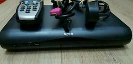Digital SKY HD multiroom box complete with remote control and power