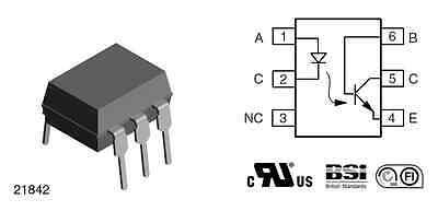 10 x 4N25 Optokoppler
