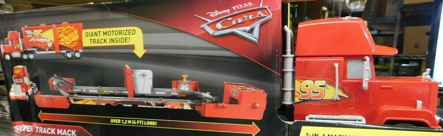 Disney/Pixar Cars Transforming Super Track Mack Playset