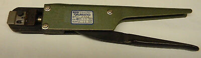 Burndy Hytool Ratchet Hand Crimping Tool With A-1113-8-d Die