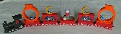 McDonald's Christmas Happy Meal HOLIDAY EXPRESS TRAIN Toy Set of 6 Cars