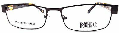 BIG MEN EYEWEAR CLUB BIG NEWS MATTE BROWN Prescription Eye Glasses Frames Only 1
