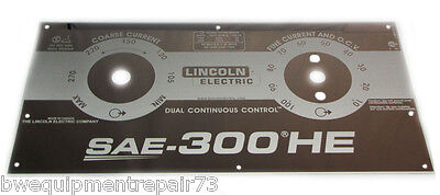 Lincoln Sae-300 He Custom Mirrored Stainless Steel Faceplate Bw1066