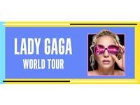 Lady Gaga o2 Arena standing