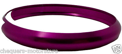 Fits BMW Mini Cooper S One Remote key FOB Pink replacement aluminium trim ring