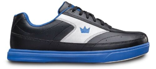 Mens Brunswick RENEGADE Bowling Shoes Black/Blue Sizes 6-15