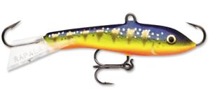 Rapala Jigging Rap 05 Fishing lure Glow Hot Perch 2-Inch