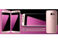 Samsung Galaxy S7 Edge 32GB Smartphone - Boxed - Pink Gold - Unlocked