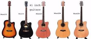 Acoustic guitars beginners starting at $79.99 electric, bass guitars, ukuleles, left handed guitars