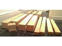 Timber wood lengths