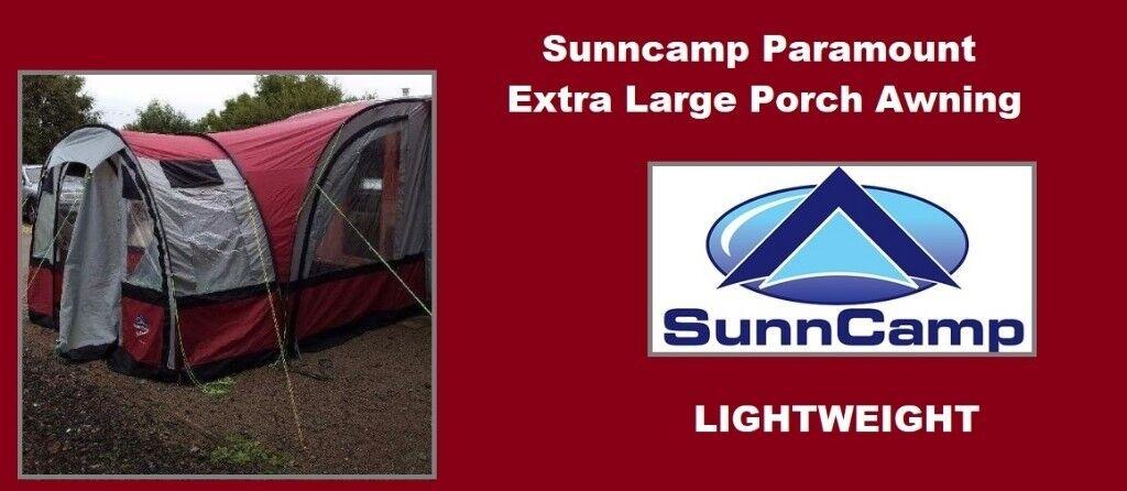 Caravan Porch Awning Sunncamp 260 390 Paramount Caravan Awning
