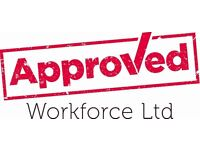 Plasterers - Guildford - £17.50 - Call Approved Workforce on 0113 202 6059.