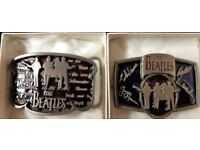 Beatles Belt Buckles (Official 1992 Apple Corps) LIMITED EDITION.