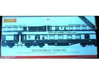 Hornby Devon Belle Coaches. R4251 . Coach Pack OO Gauge