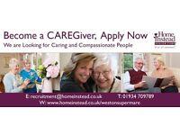 Become a CAREGiver, Apply Now