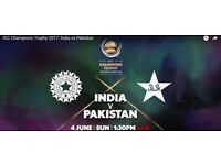 India Pakistan 4th June Silver ticket in Luton