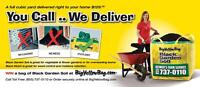 SAVE $20 BY MAR 31 - BigYellowBag - Soil-Mulch- Composted Manure