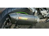 Akrapovic exhaust for 300cc motorcycles or higher LAST PRICE DROP