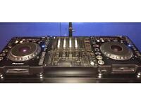 Pioneer CDJ 1000 Mk1 , Mk 2 Turntable And Djm 600 Mixer
