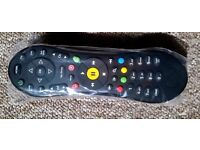 100% Genuine TiVo Virgin Media V6 Remote Control(Free 2x AA Batteries)-Brand New