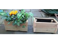 Brand new decking planter. Different sizes - small, medium and large.