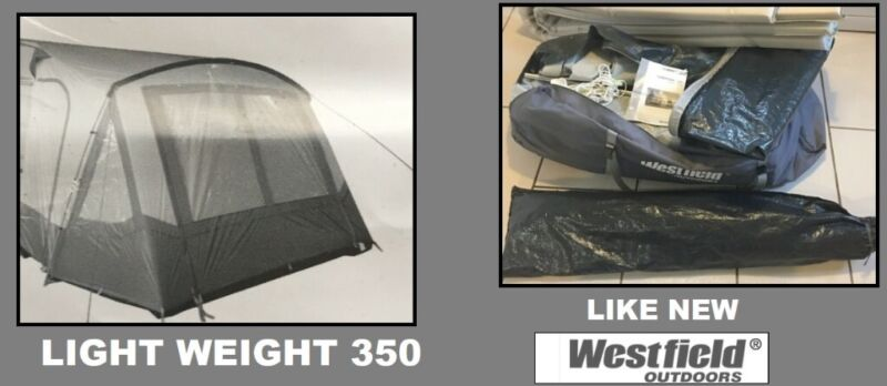Caravan Awning Light Weight 350 Porch Awning. for sale  Audenshaw, Manchester