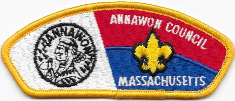 Annawon Council Strip Cloth Back CSP SAP Boy Scouts of America BSA