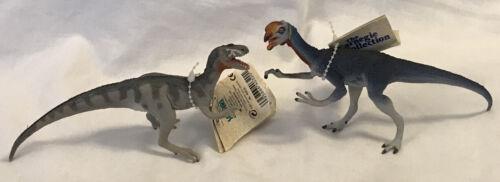 2 lot Safari Ltd Carnegie Oviraptor & Deltadromeus agilis Dinosaur with tags