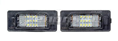 BMW 18 LED License Number Plate Lights Bulbs Lamps E60 E61 E90 E91 F10 F11 X5
