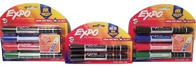 Expo Dry Erase Markers Ink Indicator Chisel Tip 2 Packs Of 4 1 Pack Of 2