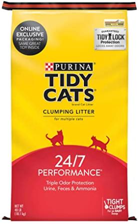 Purina Tidy Cats 24/7 Performance Clumping Cat Litter  40 lb
