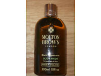 New - Molton Brown Black Peppercorn Body Wash 300 ml