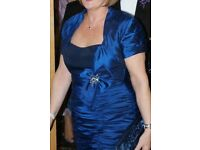Beautiful Mother of The Bride Outfit, in Royal Blue, Size 14/16