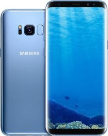 BRAND NEW SAMSUNG GALAXY S8, ORCHID BLUE, 64GB