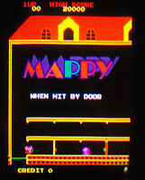 MAPPY ARCADE GAME - TABLE