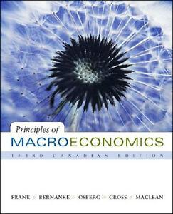 PRINCIPLES OF MACROECONOMICS Frank/Bernanke/Osberg/Cross/MacLean