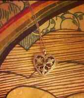 LOST: Heart Shaped Pendant