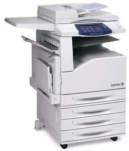 Xerox Color copier Colour Printer Scanner 11x17 Fax WorkCentre 7120 7125 gently used Copy machine Photocopier