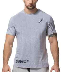 New Gym Shark tshirt bodybuilding Men M