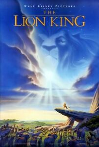 Disney Lion King Toy Story 3 original theatrical movie posters!