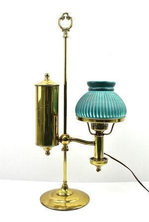 Brass Oil Lamp Electric Ebay