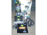 Vax Dual Power Pro Advance Carpet Cleaner Vac VAX W85-PL-T