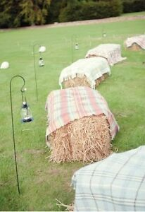 Straw Bale Seating/Decoration - For Sale